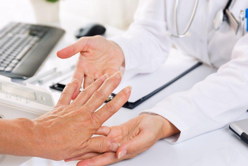 arthritis medical examination