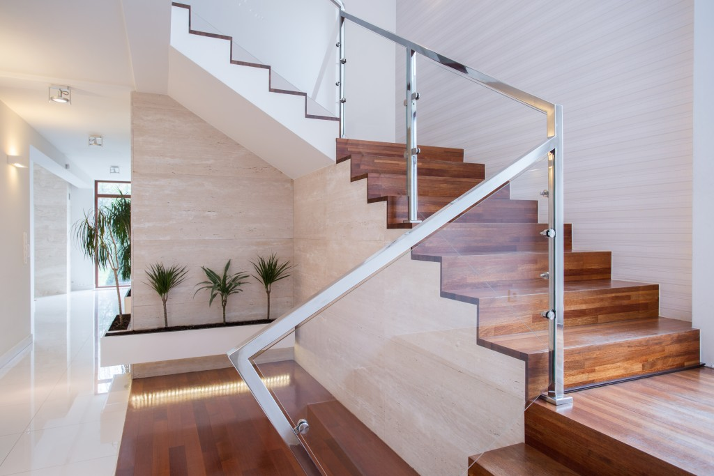 The Right Material for Your Home's Staircase