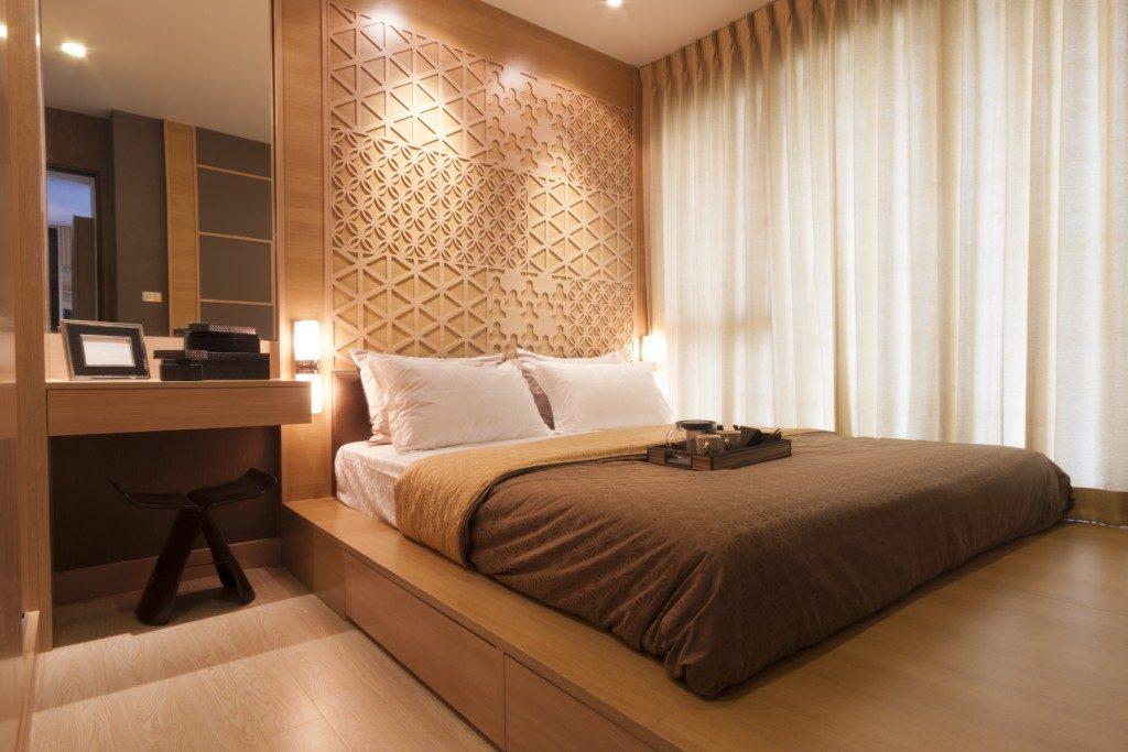 modern luxury hotel room