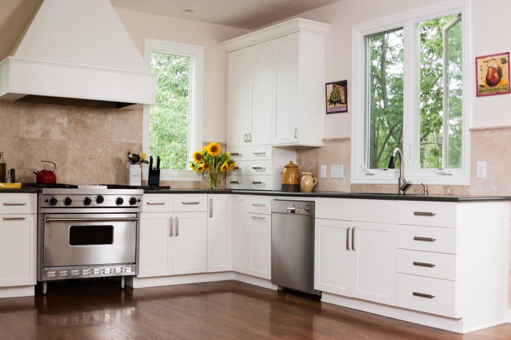 Kitchen in a modern home