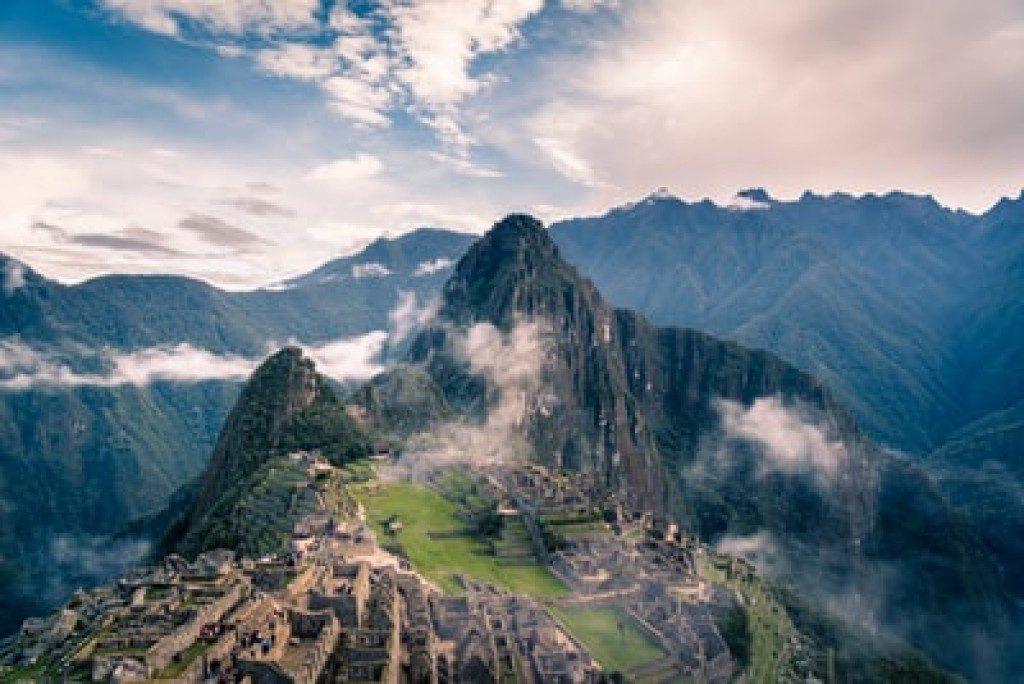 Machu Picchu Peru Landscape Photo