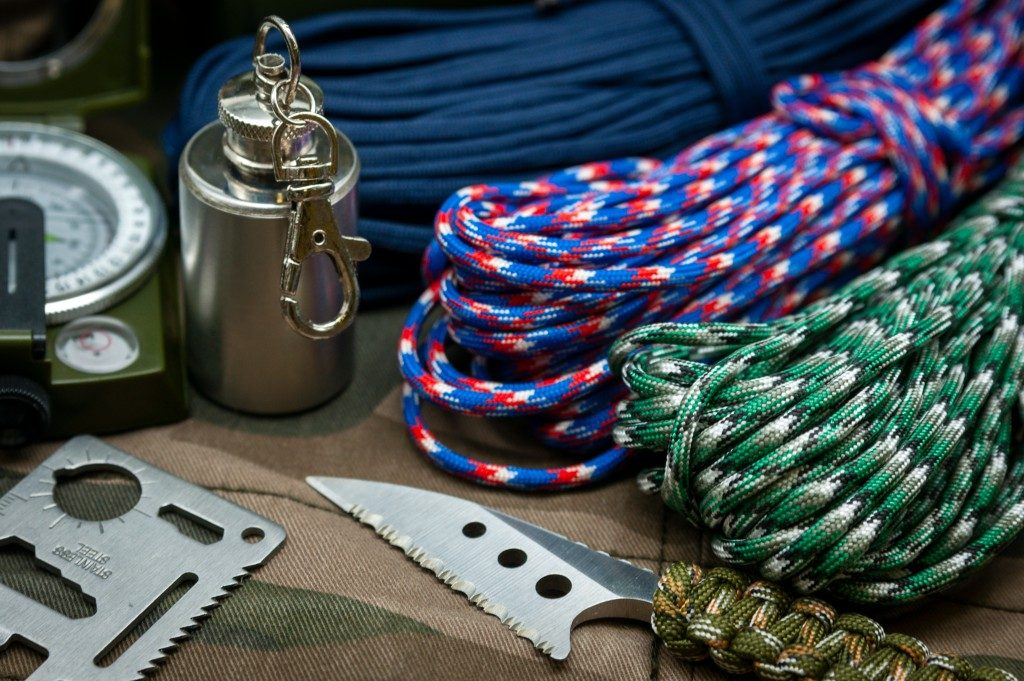 Paracords and other survival tools