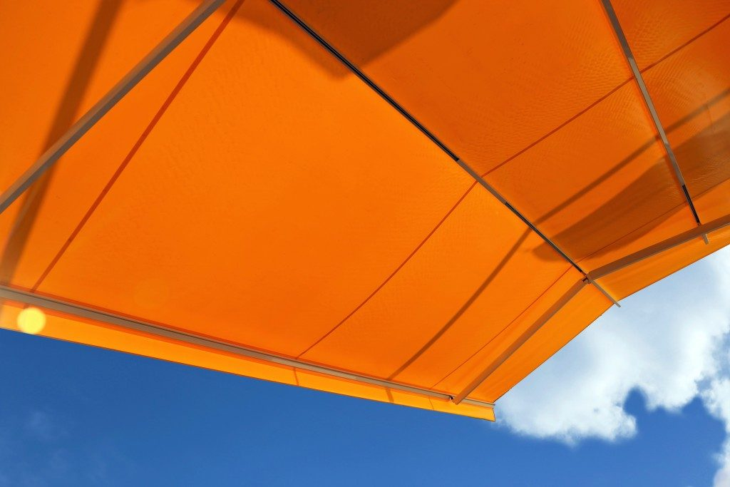 Canopy for a sunny day