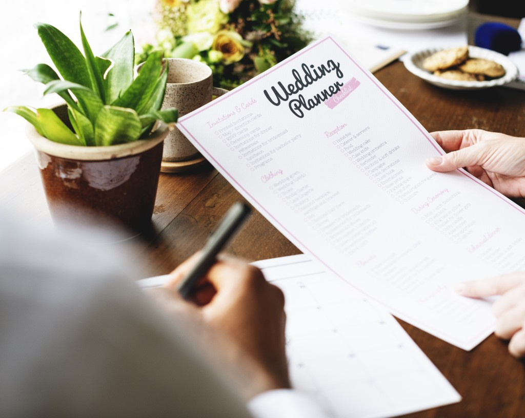 wedding planner list of things to do
