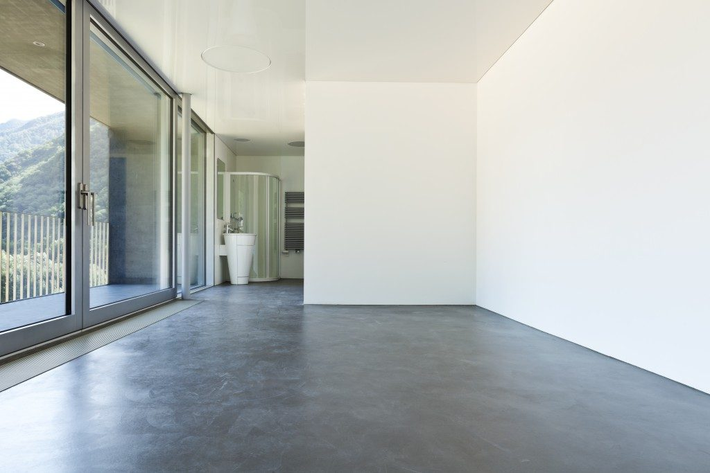 Open space in the house