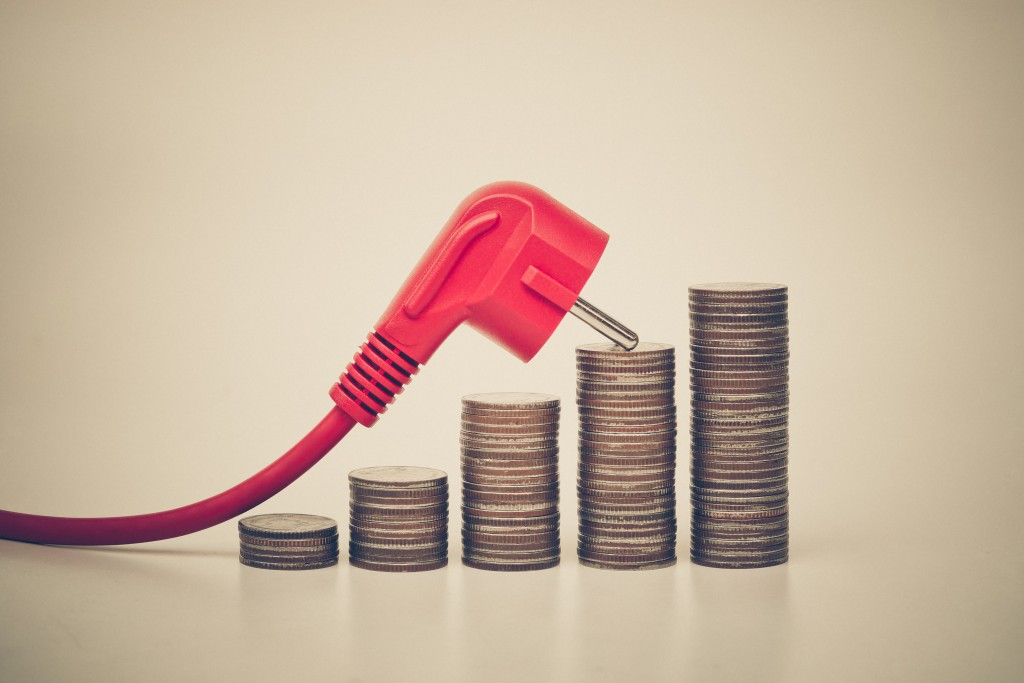expensive electricity cost due to using too much energy consumption