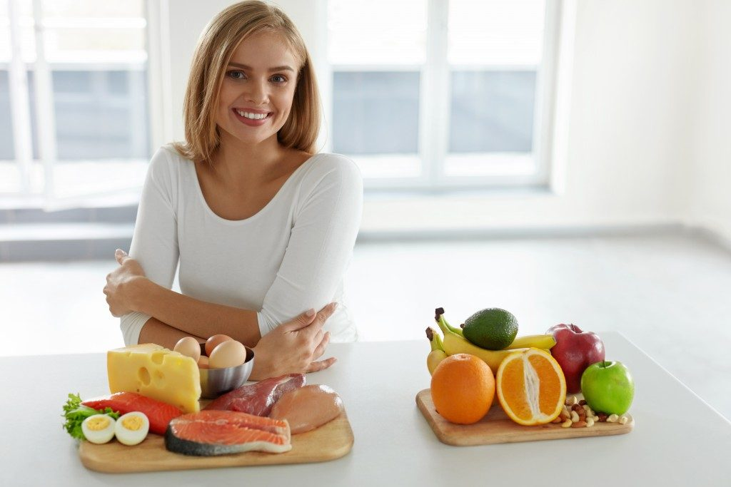 woman in her healthy lifestyle
