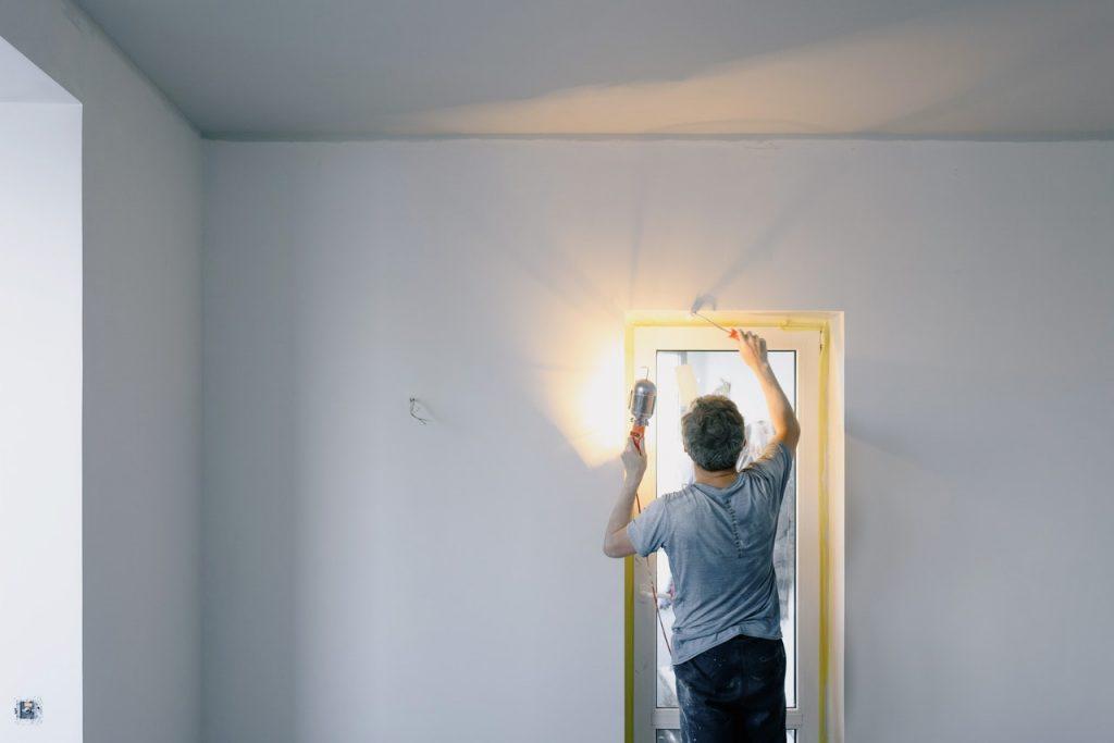 repairing door hole