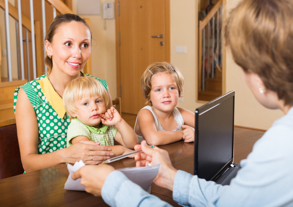 single parent buying a new home